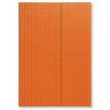 Notatnik Circulo orange on grey